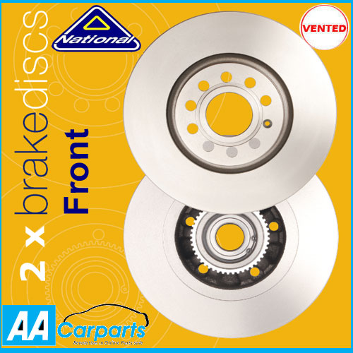 Front Brake Discs for Audi A4 2 0 2009 2010 NBD1786 3822